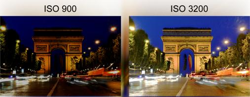 dod ISO3200 fotoaparát
