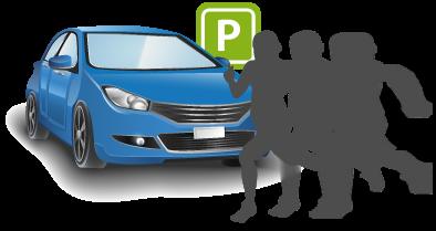 is420w parkovací monitorování