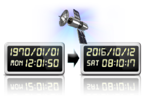 ls475w + Synchronizace datumu a casu