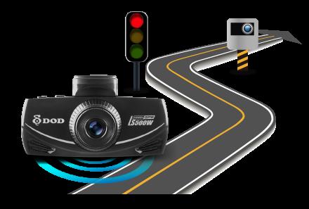 ls500w včasné upozornění přikázaný rychlosti