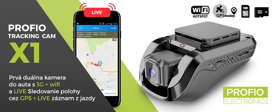 nejlepší kamera do auta s gps + live sledování