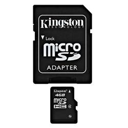8GB micro SDHC karta Kingston class 10